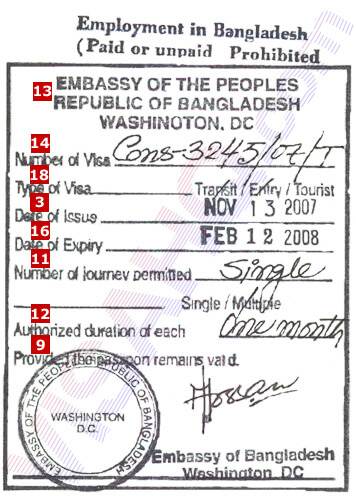 Embassy Of Bangladesh In Singapore Visahq
